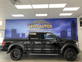 Used 2016 Ford F-150 LARIAT SPORT 502A 63100KM TOIT PANO/GPS/ for sale in Lévis, QC