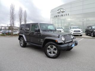 Used 2018 Jeep Wrangler JK Unlimited Sahara for sale in Langley, BC