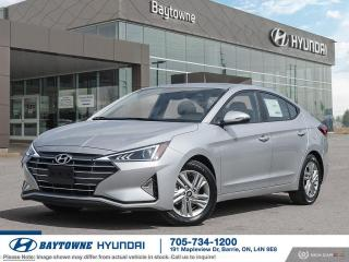 New 2020 Hyundai Elantra Sedan Preferred IVT Sun and Safety for sale in Barrie, ON