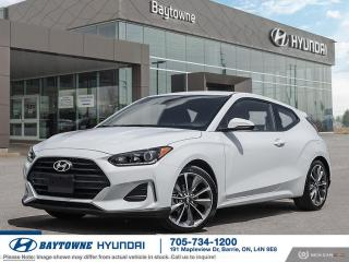 New 2020 Hyundai Veloster Preferred at for sale in Barrie, ON