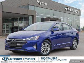 New 2020 Hyundai Elantra Sedan Preferred IVT for sale in Barrie, ON