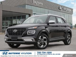 New 2020 Hyundai Venue FWD Trend w/ Urban PKG- Denim Interior for sale in Barrie, ON