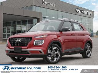 New 2020 Hyundai Venue FWD Trend w/ Urban PKG- Black Interior for sale in Barrie, ON