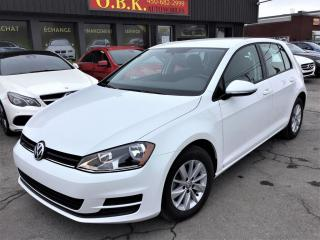 Used 2016 Volkswagen Golf Auto 1.8 TSI Trendline-CAMERA RECUL-BLUETOOTH for sale in Laval, QC