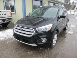 Used 2018 Ford Escape FOUR-WHEEL DRIVE SEL EDITION 5 PASSENGER 1.5L - ECO-BOOST.. NAVIGATION.. LEATHER.. HEATED SEATS.. PANORAMIC SUNROOF.. BACK-UP CAMERA.. for sale in Uxbridge, ON