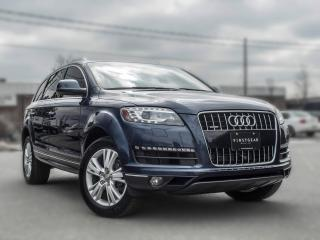 Used 2013 Audi Q7 3.0L Premium I 7 SEATER I NAV I BACK UP I PANOROOF for sale in Toronto, ON