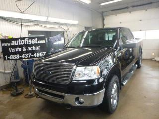 Used 2008 Ford F-150 4WD SuperCrew 150  Lariat for sale in St-Raymond, QC