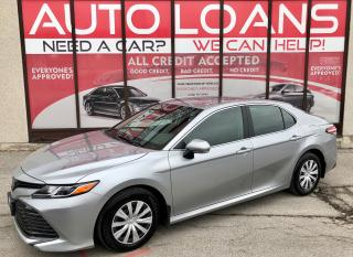 Used 2019 Toyota Camry LE-ALL CREDIT ACCEPTED for sale in Scarborough, ON