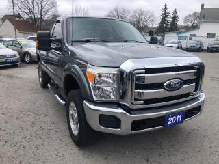 Used 2011 Ford F-350 XLT,Reg.Cab 4X4 for sale in St Catharines, ON