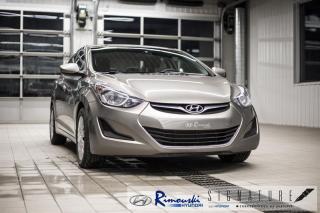 Used 2014 Hyundai Elantra GL chez Rimouski Hyundai for sale in Rimouski, QC