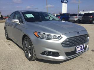 Used 2013 Ford Fusion Titanium | AWD | Sunroof for sale in Harriston, ON