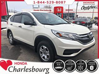 Used 2016 Honda CR-V LX **CAMÉRA DE RECUL**BLUETOOTH** for sale in Charlesbourg, QC