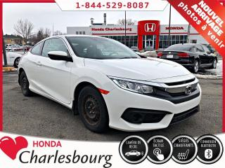 Used 2017 Honda Civic LX COUPE **Honda Sensing** 21 870 KM** for sale in Charlesbourg, QC