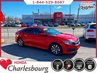 Used 2017 Honda Civic EX 2.0L**AUTOMATIQUE**UN PROPRIÉTAIRE** for sale in Charlesbourg, QC