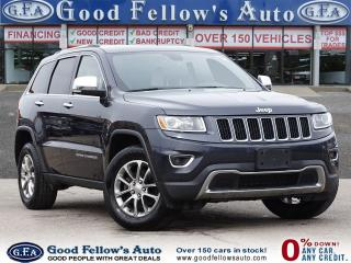Used 2016 Jeep Grand Cherokee LIMITED MODEL, SUNROOF, LEATHER SEATS, POWER SEATS for sale in Toronto, ON