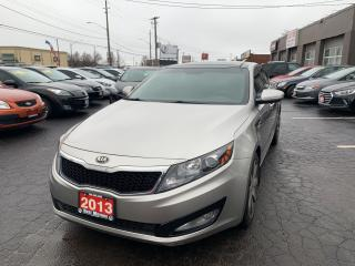 Used 2013 Kia Optima EX-Luxury for sale in Hamilton, ON