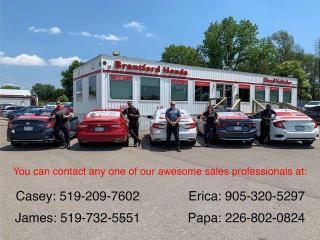 Used 2017 Honda Civic Hatchback Sport 4dr FWD Hatchback for sale in Brantford, ON