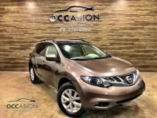 Used 2014 Nissan Murano Traction intégrale 4 portes SV AWD 75405 for sale in Ste-Brigitte-de-Laval, QC