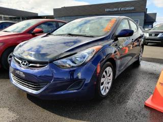 Used 2013 Hyundai Elantra GL 2013 **SUPERBE KILOMÉTRAGE** 28000 KM for sale in St-Eustache, QC
