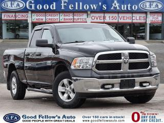 Used 2018 RAM 1500 ST MODEL, 6CYL 3.6 LITER, 4WD, BLUETHOOTH for sale in Toronto, ON