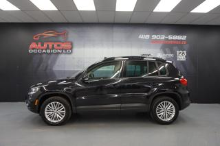Used 2016 Volkswagen Tiguan SPECIALE EDITION 4MOTION TOIT OUVRANT CAMERA FULL for sale in Lévis, QC