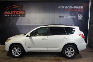 Used 2010 Toyota RAV4 4WD V6 LIMITED CUIR TOIT OUVRANT BLUETOOTH 120 900 for sale in Lévis, QC