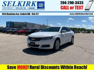 Used 2017 Chevrolet Impala LT  - Bluetooth -  SiriusXM for sale in Selkirk, MB
