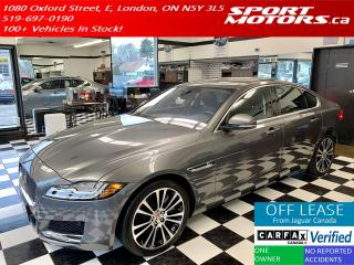 Used 2017 Jaguar XF 35t Prestige+AWD+LED+GPS+Accident Free for sale in London, ON