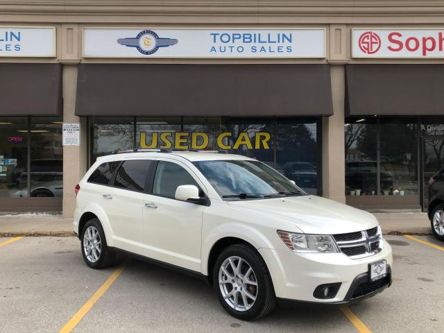 2014 Dodge Journey R/T AWD, Navi, Leather, Back-up Camera