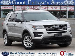 Used 2017 Ford Explorer 2.3L ECO, 7PASS, REARVIEW CAMERA, 4WD, POWER SEATS for sale in Toronto, ON