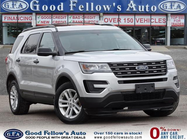 2017 Ford Explorer 2.3L ECO, 7PASS, REARVIEW CAMERA, 4WD, POWER SEATS