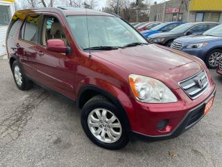Used 2005 Honda CR-V EX-L/AWD/LEATHER/ROOF/ALLOYS for sale in Scarborough, ON