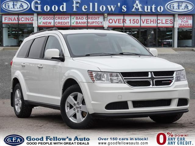 2017 Dodge Journey SE PLUS MODEL, 2.4 L 4 CYL, 7 PASS, REAR HEAT & AC