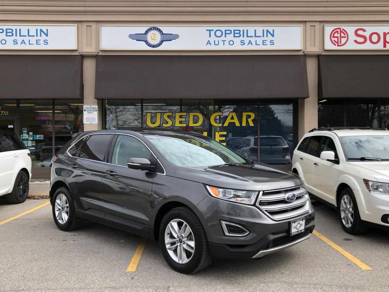2016 Ford Edge SEL, Navi, Leather, Pano Roof, B-Cam