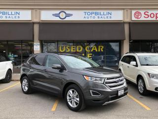 Used 2016 Ford Edge SEL, Navi, Leather, Pano Roof, B-Cam for sale in Vaughan, ON