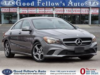 Used 2016 Mercedes-Benz CLA250 4MATIC, LEATHER SEATS, NAVIGATION, REARVIEW CAMERA for sale in Toronto, ON