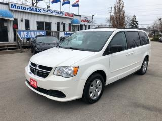 Used 2011 Dodge Grand Caravan SE-STOW-N-GO for sale in Stoney Creek, ON