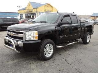 Used 2011 Chevrolet Silverado 1500 LT ExtCab 4x4 4.8L 6.5ft Box for sale in Brantford, ON