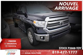 Used 2017 Toyota Tundra SR5 PLUS| 4X4| BOÎTE LONGUE| GROUPE REMORQUAGE for sale in Drummondville, QC