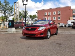 Used 2010 Toyota Corolla CE 1.8liter - Active Title for sale in Edmonton, AB