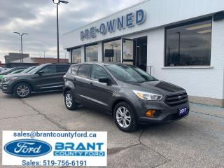 Used 2017 Ford Escape S for sale in Brantford, ON