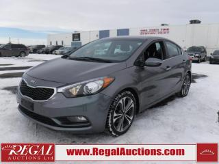 Used 2016 Kia Forte EX 4D Sedan AT 2.0L for sale in Calgary, AB