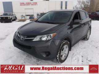 Used 2015 Toyota RAV4 LE 4D UTILITY AWD 2.5 for sale in Calgary, AB
