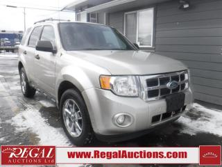 Used 2012 Ford Escape XLT 4D Utility 4WD for sale in Calgary, AB
