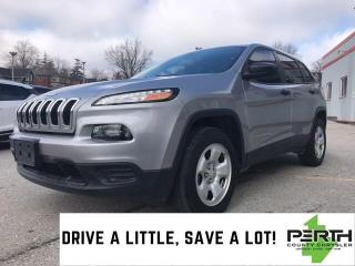 Used 2017 Jeep Cherokee Sport 4X4 Heated Seats Remote Start for sale in Mitchell, ON