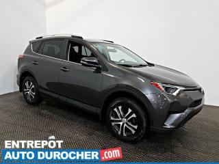 Used 2016 Toyota RAV4 LE AIR CLIMATISÉ - Sièges Chauffants for sale in Laval, QC