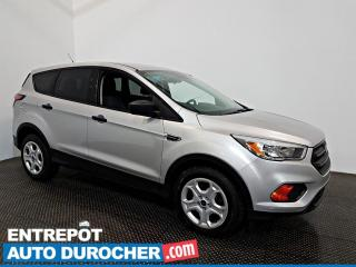 Used 2017 Ford Escape S AIR CLIMATISÉ - Caméra de Recul - for sale in Laval, QC