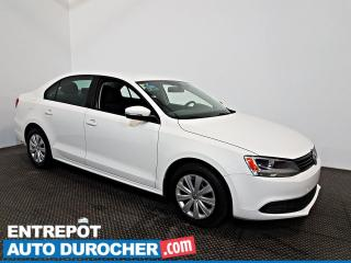 Used 2014 Volkswagen Jetta Sedan Trendline+ AIR CLIMATISÉ - Groupe Électrique for sale in Laval, QC