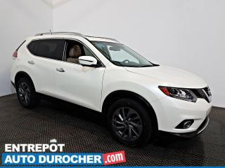 Used 2016 Nissan Rogue SL AWD NAVIGATION  TOIT OUVRANT AIR CLIMATISÉ CUIR for sale in Laval, QC