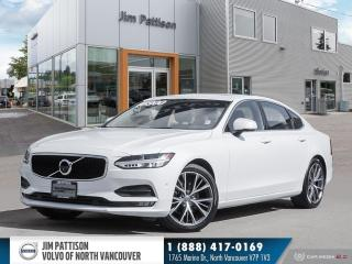 Used 2018 Volvo S90 T5 MOMENTUM - CERTIFIED - 360 CAMERA - ADAPTIVE CR for sale in North Vancouver, BC